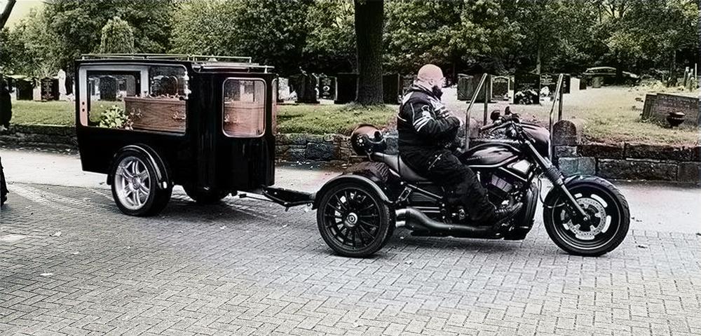 biker funeral