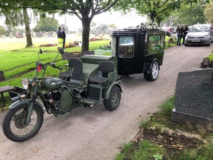 Our Own Motorcycle Hearse