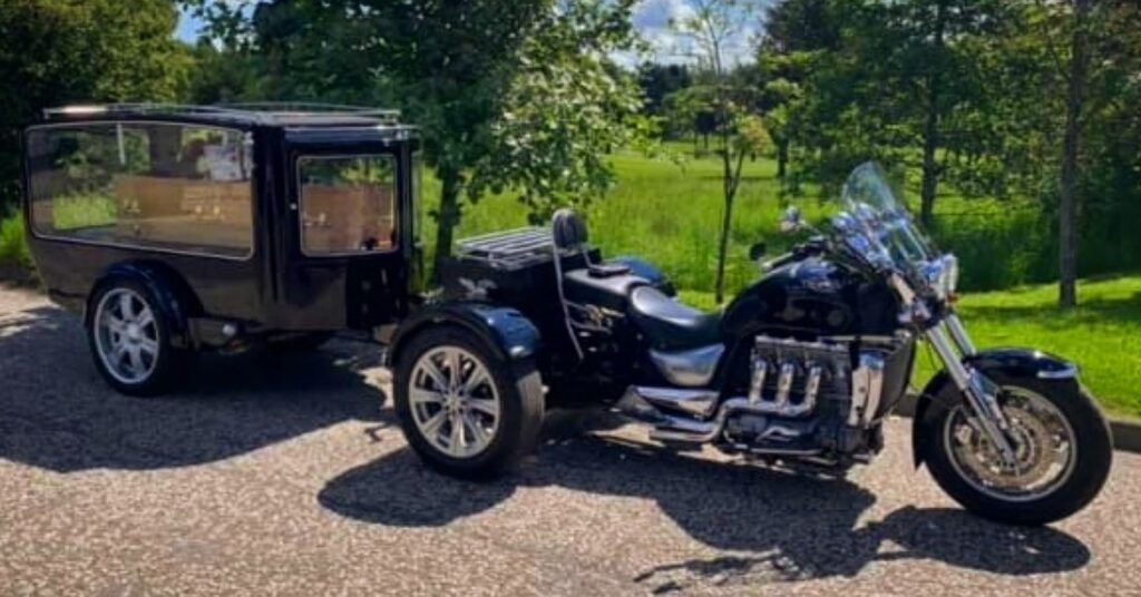 Our Motorcycle Hearse